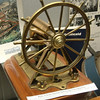 A model of direct acting Hastie steering gear displayed at the McLean Museum, Greenock.
