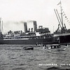 "ss WOLLONGBAR<br /> Yard No 746<br /> Triple expansion steam engines<br /> Launched: Monday, 28/08/1922 for North Coast Steam Navigation Company, Sydney NSW<br /> Career: <br /> <a href=""http://www.clydesite.co.uk/clydebuilt/viewship.asp?id=18070"">http://www.clydesite.co.uk/clydebuilt/viewship.asp?id=18070</a><br /> and<br /> <br /> <a href=""http://www.australiansatwar.com.au/stories/stories.asp?war=W2&id=190"">http://www.australiansatwar.com.au/stories/stories.asp?war=W2&id=190</a> <br /> Seen here during the visit of a British naval fleet to Sydney in April 1924"
