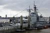 HMCS Iroquois, Cruise Terminal, Liverpool, Sun 26 May 2013 3.  ORP General Tadeusz Kosciuszko is alongside.