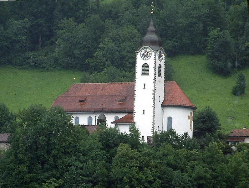 Church at Fluelen