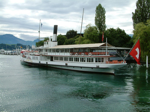 Luzern - its Lake and its Steamers - Part 1