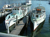 Motor vessels Beibo, Reuss and Rutli at SGV Shipyard, Luzern