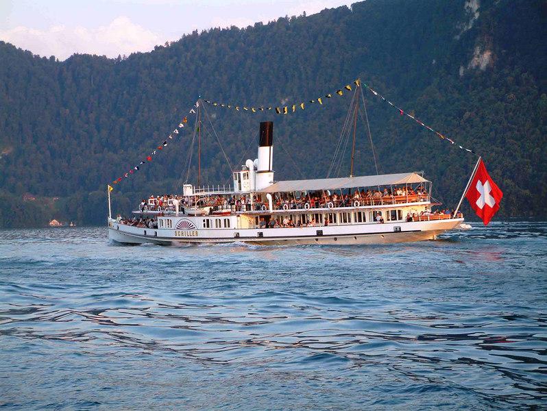 Paddle steamer Schiller