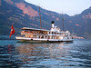 Swiss National Day Steamer Parade 2003 - paddle steamer Stadt Luzern