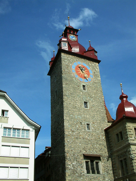 Tower of the Rathaus (Town Hall), Luzern