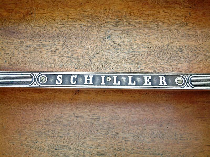 Paddle steamer Schiller companionway step edge plate