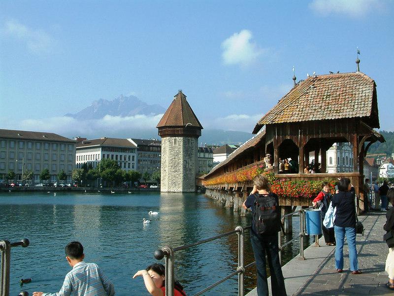 Kapelbrucke, Luzern