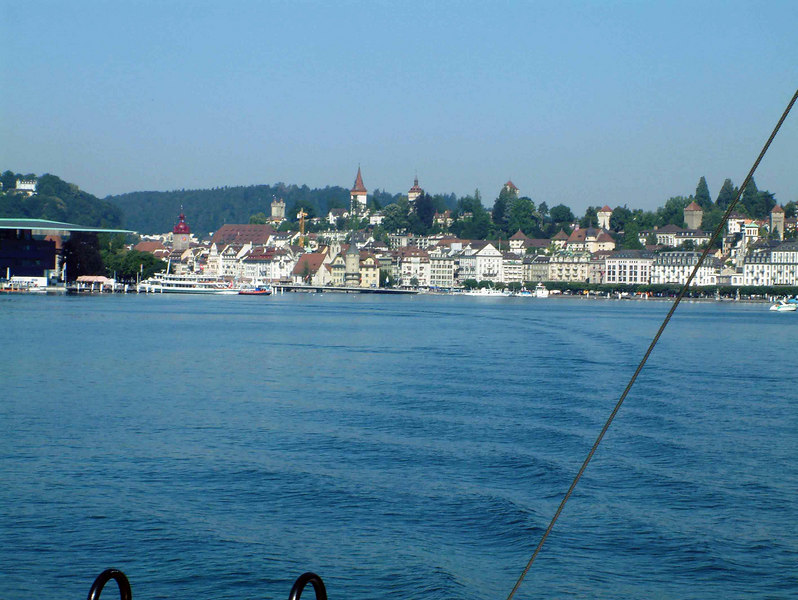Luzern from the lake