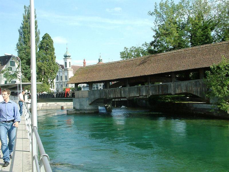 Spruerbrucke, Luzern