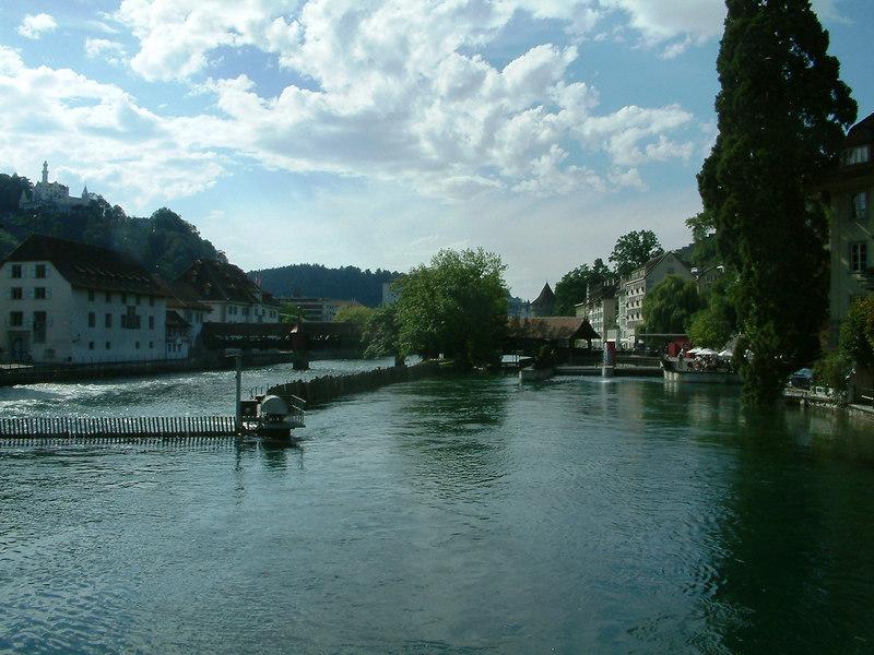 River Reuss, Luzern