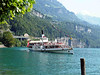 Paddle steamer Schiller arriving at Brunnen