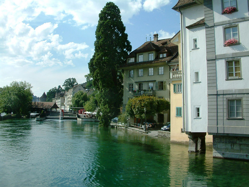 River Reuss, Luzern