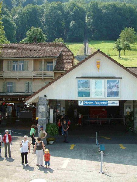 Kehrsiten - Burgenstock pier and funicular railway