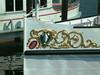 Bow crest paddle steamer Schiller
