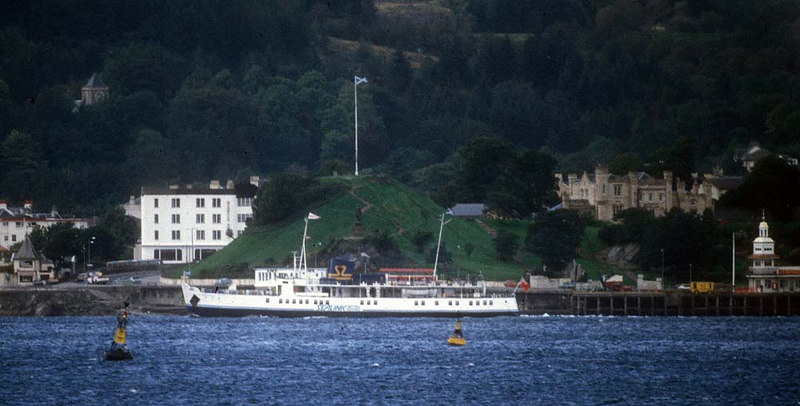 Southsea leaving Dunoon (as viewed from actoss the Firth of Clyde at Cloch Point)