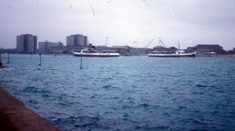 Southsea and Brading at Portsmouth in 1982.