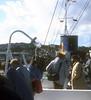 View along Southsea as she berths at Rothesay