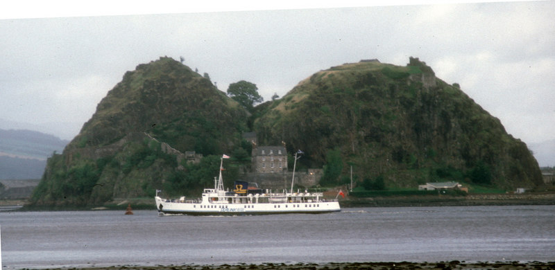 Southsea passing Dumbarton Castle
