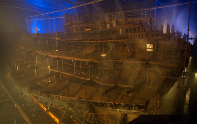 Mary Rose, Portsmouth, 2007 & 2013