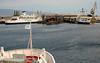 M/F Scilla, 12 September 2007 6 - Messina, 1844   Approaching the berth between Rosalia & Riace