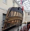 HMS Implacable, National Maritime Museum, Greenwich, 27 January 2015 2.  The stern decorations.