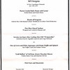 """This was a special """"sampling"""" menu featuring some of the speciality restaurants signature dishes."""