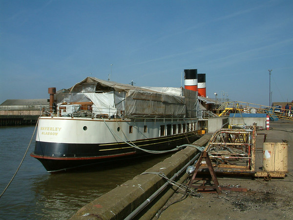 Paddle steamer Waverley Rebuild Phase II - 2003