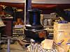 Aft mooring capstan in workshop for refurbishment