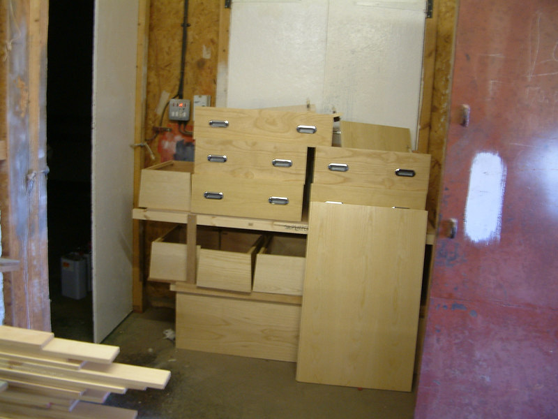 New furniture for crew accommodation