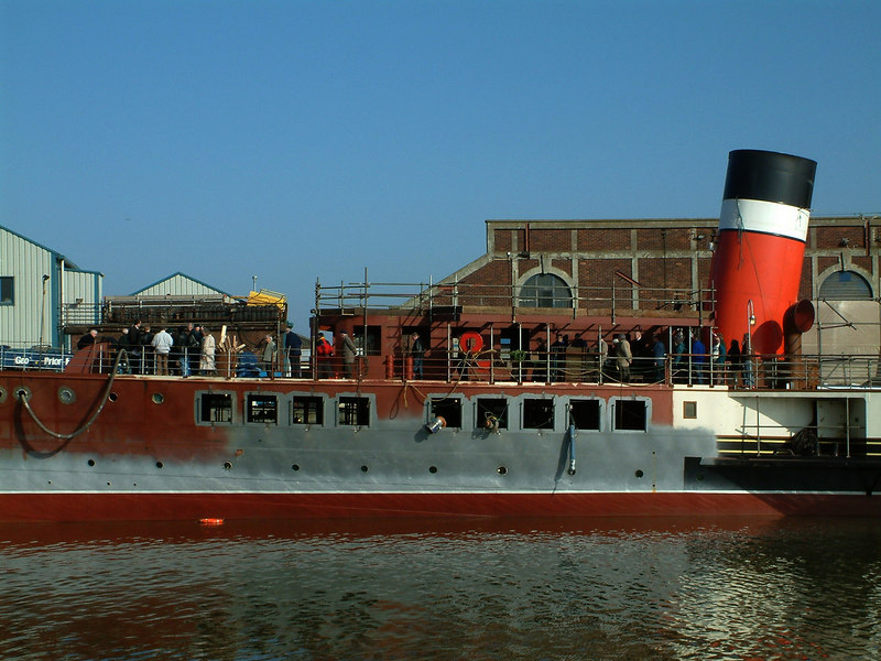 Phase II was mainly concentrated on the forward end of the steamer