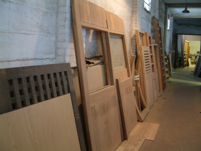 New external doors in original style under manufacture
