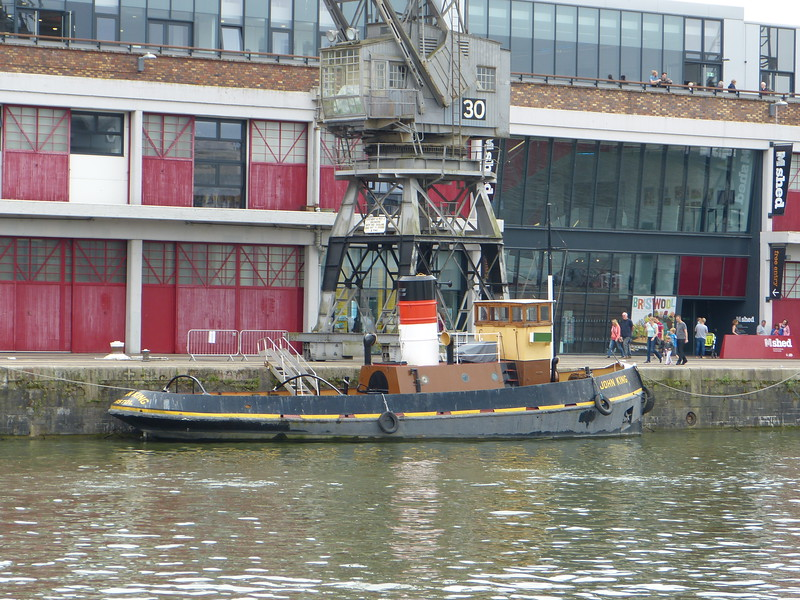 Tug John King Bristol Harbour  11 06 16