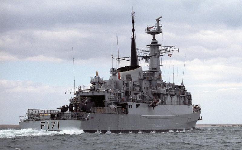 HMS Active, Portland, 1990 2