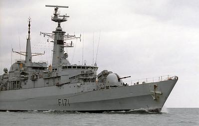 Royal Navy, Portland, 1990