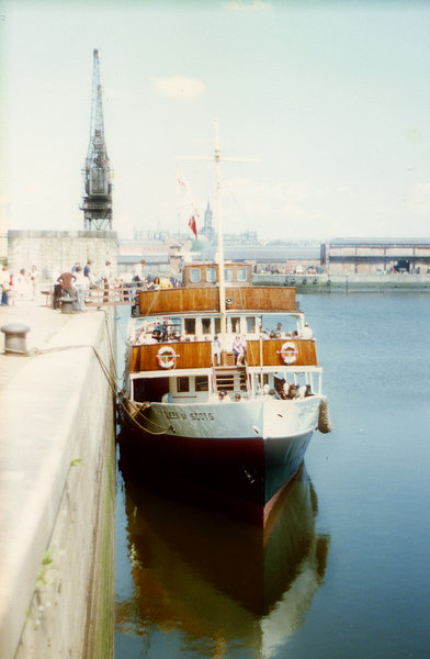 Queen of Scots at Glasgow Princes Dock