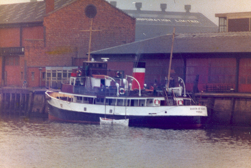 Queen of Scots at Anderston Quay 22 July 1977