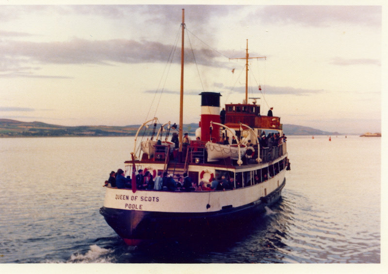Queen of Scots leaving Greenock for Glasgow