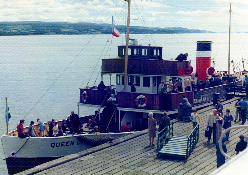 Queen of Scots at Dunoon 29 July 1977