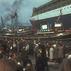 An impressive display of Clyde tugs.<br /> <br /> Picture by the late Mr William Davies