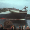 At 14:28 on 20th September 1967, Yard No 736 was launched into the Clyde