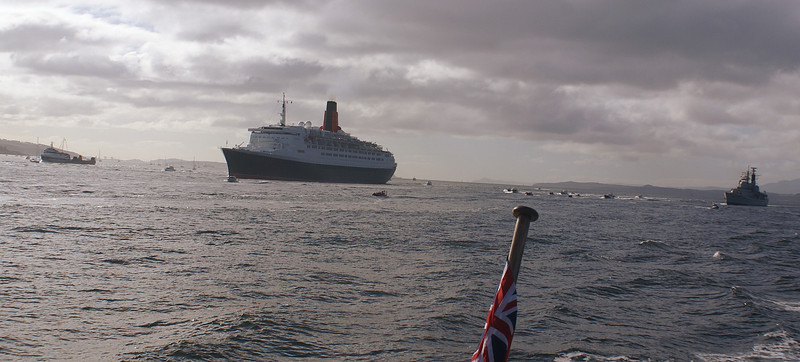 Saturn, QE2 and Manchester and a big flottila