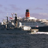 Manchester and QE2
