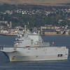 "French Navy Ship Tonnerre at the Tail of the Bank - follow the link below to see Calum McCulloch's picture of the ship arriving in the Clyde on 3rd October (with Bute and the Arran hills beyond.<br /> <br />  <a href=""http://www.clydesite.co.uk/clydeshipping/images/2008/10/236604.jpg"">http://www.clydesite.co.uk/clydeshipping/images/2008/10/236604.jpg</a>"