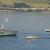 Ark Royal, Balmoral and Manchester