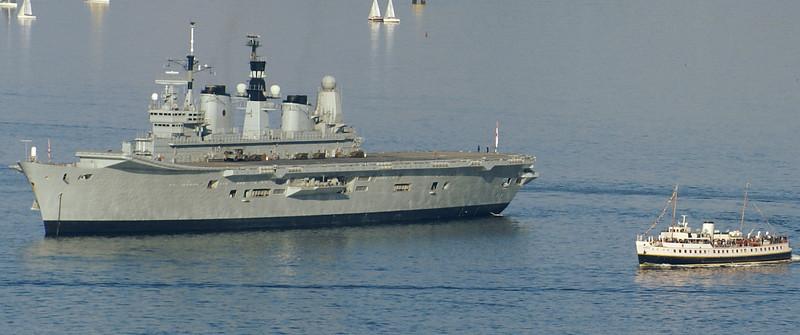 Ark Royal and Balmoral