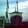 QE2 in Inchgreen Drydock <br /> <br /> Picture by Stuart Cameron