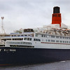QE2 - third return to the Clyde<br /> <br /> Picture by Stuart Cameron