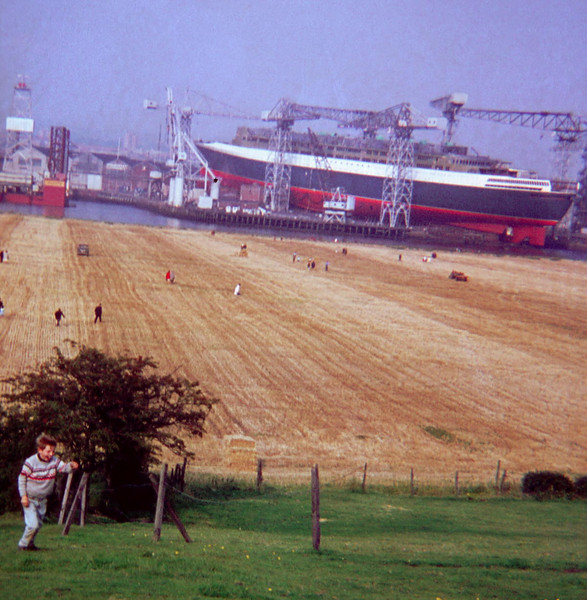 This was one of the first ever ship photographs that I took - aged 12 with my father's camera in early September 1967 <br /> <br /> Picture by Stuart Cameron