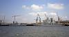 HMS Manchester (left) & HMS Liverpool, Devonport, April 1999.