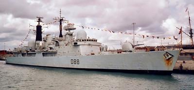 Royal Navy, Portsmouth, 2001